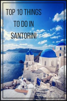 One day I would like to travel around the World. My first pick would be Santorini. Santorini has the most beautiful views and fresh seafood to enjoy that would make it interesting. Dream Vacations, Vacation Spots, Places To Travel, Places To See, Travel Destinations, Travel Tips, Travel Abroad, Travel Essentials, Solo Travel