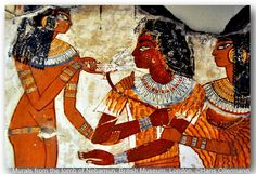 """Nebamun was an Egyptian """"scribe and counter of grain"""" during the New Kingdom. His tomb in Thebes, the location of which is now lost, featured the famous Pond in a Garden false fresco painting. Nebamun's name is translated as """"My Lord is Amun"""" and he is thought to have lived c. 1500 bc. The paintings were hacked from the tomb wall and purchased by a British collector who in turn sold them to the British Museum in 1821"""