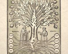 Alquimia sagrada geometría diagrama cósmico por TigerHouseArt