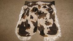 toddler cow-hide chaps!
