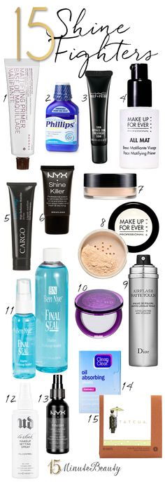 15 Great Shine Fighters: The Best Products to Help You Mattify