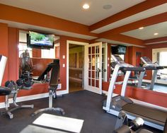 Home Gym Design, Pictures, Remodel, Decor and Ideas - page 6