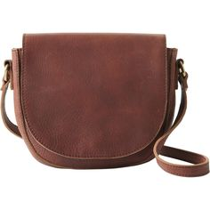 Sling it over a shoulder or wear it crossbody, the Lifetime Leather Saddle Bag is made of 100% cowhide leather that gains character with every carry.