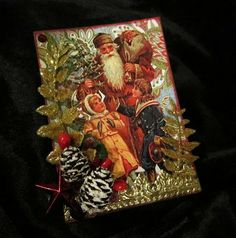 easily amused, hard to offend . . .: more Christmas atcs