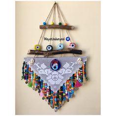 Bead Crafts, Diy And Crafts, Crochet Designs, Crochet Patterns, Wool Runners, Kids Curtains, Garden Deco, Modern Christmas, Crochet Home