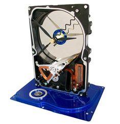 Win a Teco Art hard drive clock Music Instruments, Clock, Art, Computer Hard Drive, Watch, Art Background, Musical Instruments, Kunst, Clocks