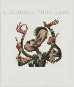 richard thompson cartoonist - Buscar con Google