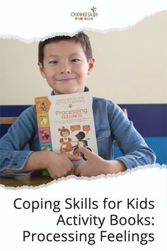 Activity Books to Help Kids Explore Coping Skills! Kids Activity Books, Activities For Kids, Anger Coping Skills, Dealing With Anger, How To Handle Stress, Angry Child, Deal With Anxiety, Help Kids, Explore