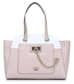 wardow.com - #guess, Forget Me Not Handtasche rosa 37 cm