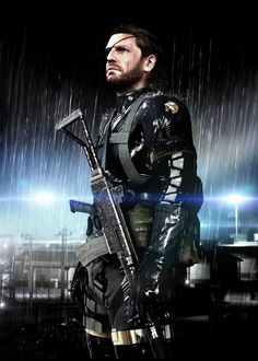 Metal Gear Solid: Ground Zeroes - The one and only, Big Boss...