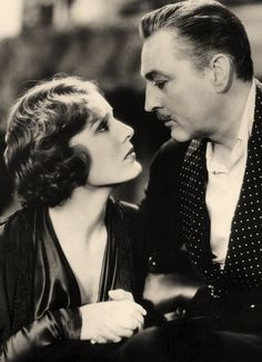 Madge Evans and John Barrymore.