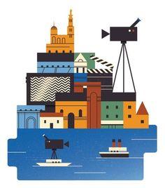 Illustration by Jamie Jones #illustration #city #illu #monocle in Illustration