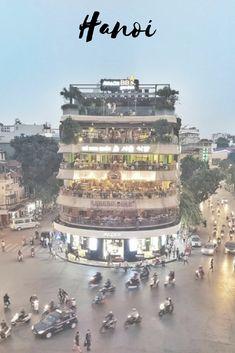 The busiest crossroad in #Hanoi #Vietnam #travelasia #asia