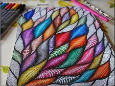 dekoretti´s Welt: Einfach mal wieder Zeichnen und Malen ...