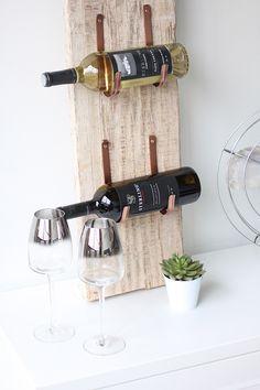 87b5e14d570 DIY Reclaimed Barn Wood Wine Rack Entry Furniture, Royal Furniture,  Mirrored Furniture, Bar