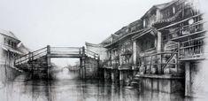 Wuzhen, Fragile Life » Ian Murphy Drawings