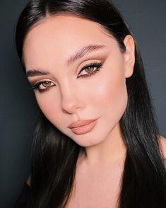 Glam Makeup, Nude Makeup, Kiss Makeup, Beauty Makeup, Makeup Eye Looks, Creative Makeup Looks, Eye Makeup Art, Simple Makeup, Aesthetic Makeup