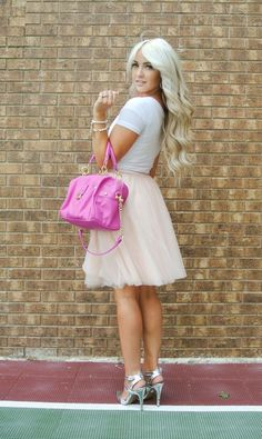 Top 16 awesome trends with Tulle Skirt for Spring/Summer  #skirt #tulle #summer #spring