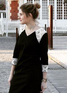Emmanuelle a testé le concept de robes personnalisables chez Ma robe et moi  en créant sa
