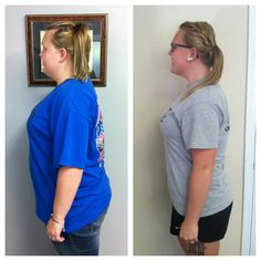 UPDATE! Ms Ashley now has lost 40lbs in about 15 weeks! We are so proud!