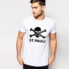 Easy Storm Slim Short Sleeve Skull 65% Cotton T Shirt Men Letter ST.PAULI Black Print T-shirt For Men Brand Clothing Tops & Tees♦️ B E S T Online Marketplace - SaleVenue ♦️👉🏿 http://www.salevenue.co.uk/products/easy-storm-slim-short-sleeve-skull-65-cotton-t-shirt-men-letter-st-pauli-black-print-t-shirt-for-men-brand-clothing-tops-tees/ US $5.69