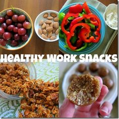 Healthy Work Snacks