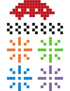 Space Invaders add-ons.