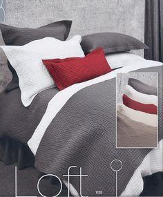 Loft- Grey Duvet Cover Bedroom