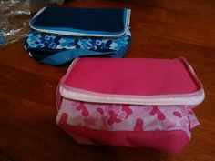 Cameo two set insulated lunch bags