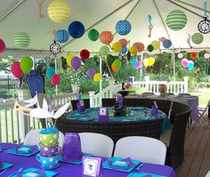 Fantastic decoration ideas at this party: Grayson's Onederland featured on Amy's Party Ideas. Alice in Wonderland Party Ideas Mad Hatter Decorations