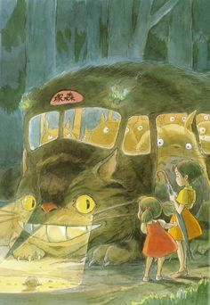 The art of my neighbor Totoro (buscat)