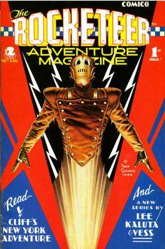 rocketeer adventure magazine