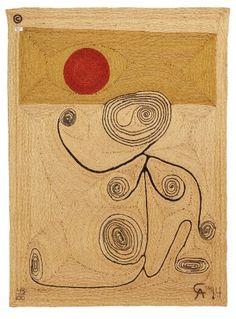 """Alexander Calder """"Josephine Baker"""" 1975"""