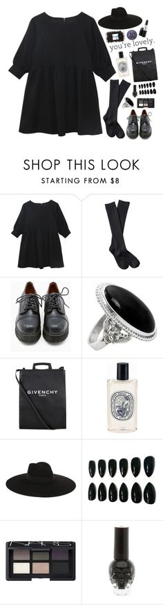 """""""You're lovely"""" by shatalovatatyana ❤ liked on Polyvore featuring Xhilaration, Sixtyseven, NOVICA, Givenchy, Diptyque, Yves Saint Laurent, NARS Cosmetics and M.A.C"""
