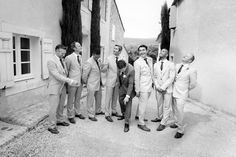 Domaine des Andeols in the South of France - Yana & Stephen - Groom