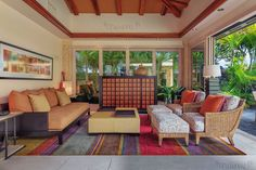 Hawaiian Living.  See more of this fabulous Big Island estate here.  http://www.resort-virtual-tour.com/72-2814-uluweuweu-akau-place-kukio-hi-96740/ #luxury #luxuryhawaiirealestate #panaviz