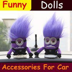 $21.84 (Buy here: https://alitems.com/g/1e8d114494ebda23ff8b16525dc3e8/?i=5&ulp=https%3A%2F%2Fwww.aliexpress.com%2Fitem%2FNew-Despicable-Me-Minions-Toys-Car-Dolls-Minion-Auto-Outside-Accessories-Funny-Creative-Roof-Cartoon-Doll%2F32692042461.html ) New Despicable Me Minions Toys Car Dolls Minion Auto Outside Accessories Funny Creative Roof Cartoon Doll Removable Washable for just $21.84