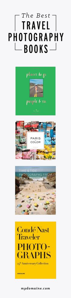 Travel photography coffee table books you need in your life