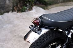 "taillight  Honda GL III / Megapro 2005  ""Silver Cash""  Custom by  "" DWellners KustomSlaughter """