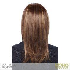 Medium Hair Cut for Girls Rear View