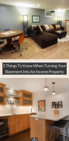 Thinking About Renovating Your Basement Into An Income Property? These Five  Remodeling Tips Can Help You Get Started.