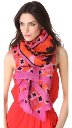 Theodora & Callum Yucatan Scarf | Also available in citrus fall colors