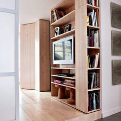 Fantastic storage and materials; Des rangements astucieux - Marie Claire Maison