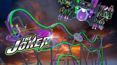 #TheJoker is coming to #SixFlagsGreatAdventure! Looks like the #TotalMayhem name and theme has changed! Who is excited? #rollercoaster #sixflags #greatadventure #newjersey