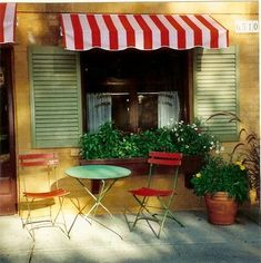 french cafe patio - Google Search