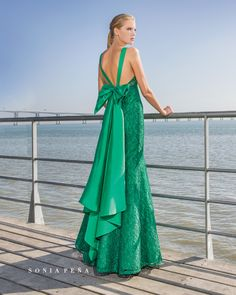 Vestidos de Fiesta, Vestidos de madrina, Vestidos para boda, Vestidos de Coctel 2018. Colección Primavera Verano Completa 2018 Avant Garde. Sonia Peña - Ref. 1180272