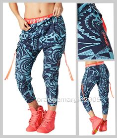 ZUMBA CARGO PANTS DANCE FITNESS Converts to Capri Harrods Convention XS S M  L XL in 2019  e75591dffdb