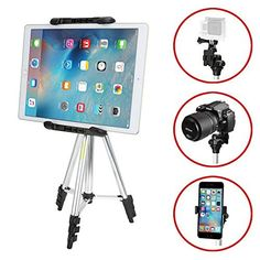 iKross 41-inch Portable Light weight Tripod with Adapters for Gopro HERO, Apple iPhone, iPad, Samsung Smartphone, Tablet, Digital Camera and more, http://www.amazon.com/dp/B00Q7WD1JW/ref=cm_sw_r_pi_awdm_x_LgmWxbW673CZ9