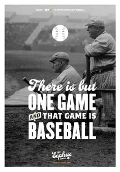 Love this... The best sport and awesome typography. It can't get any better