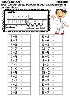 Soalan Latihan Matematik Tadika 6 Tahun Kecemasan 1